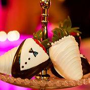 Wedding chocolate covered strawberries.j