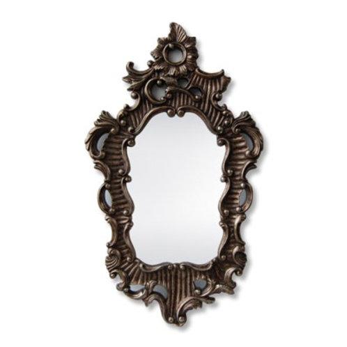Traditional Dark Gold Mirror