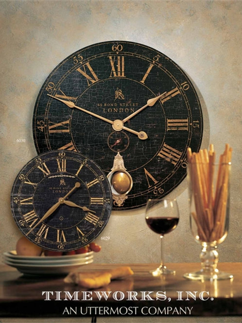 Bond Street 30 Clock