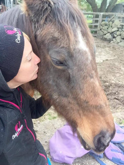Matilda loves kisses