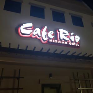 CAFE RIO OUTDOOR SIGNAGE