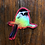 Thumbnail: Holographic Red Chickadee