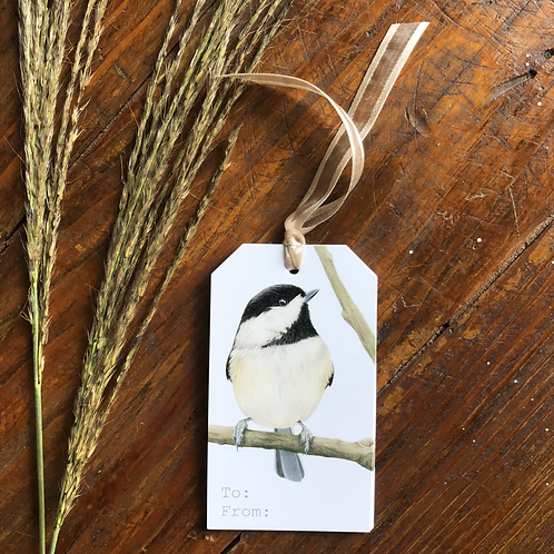 Chickadee Gift Tag Set