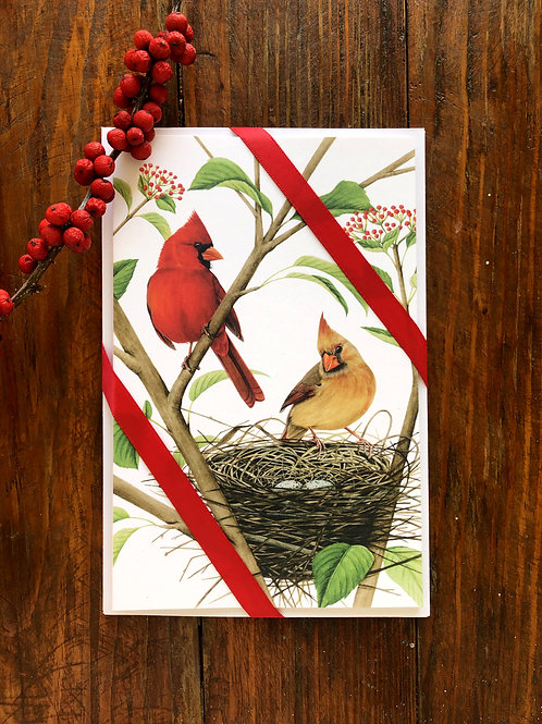 Large Cardinal Notecard 3 Pack