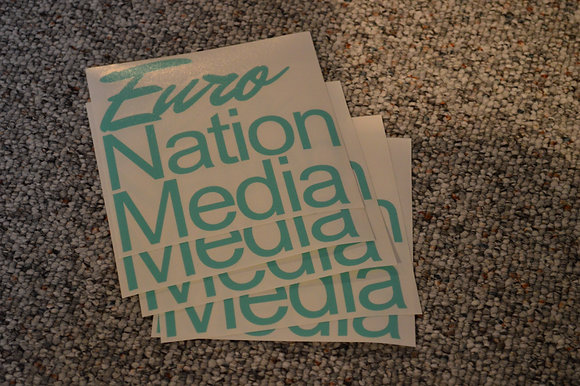 Euro Nation Media Sticker