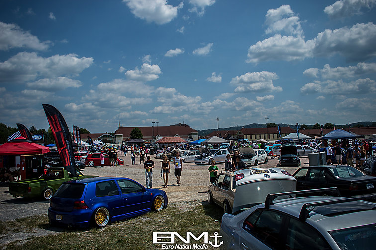 Volkswagens posted up at V.A.G. Fair 2014.  Top Dog Competition. Dapper mk4 gti R32.