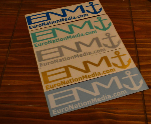 ENM.COM DIE CUT STICKER