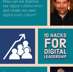 Webinar: 10 Hacks for digital leadership
