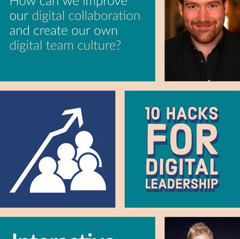 Webinar: 10 Hacks for digital leadership