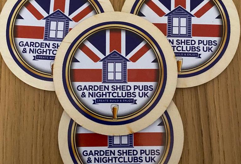 Bar Matt Coasters Official Merchandise.