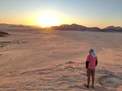 Sunset at Wadi Rum, Jordan