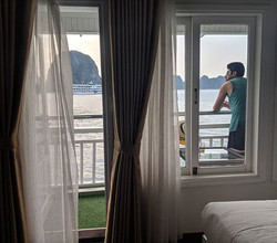 Balcony views!