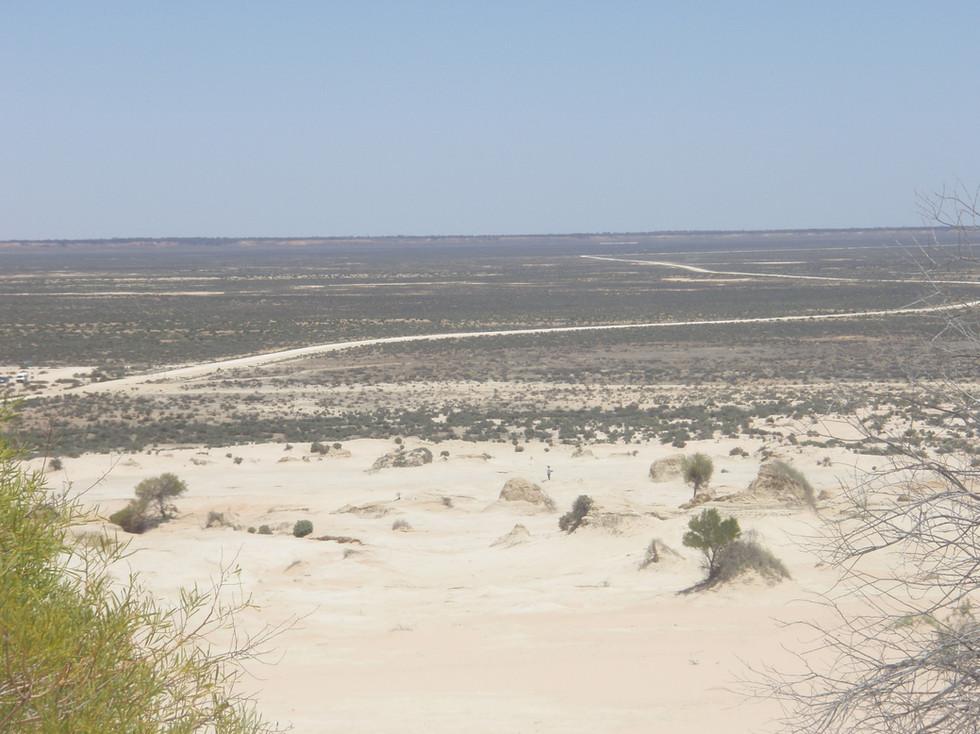 Lake Mungo basin