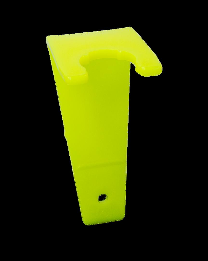Neon Yellow Clip