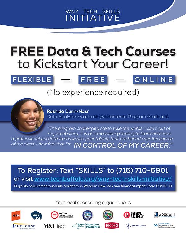 WNY Tech Skills Initiative_Program Flyer