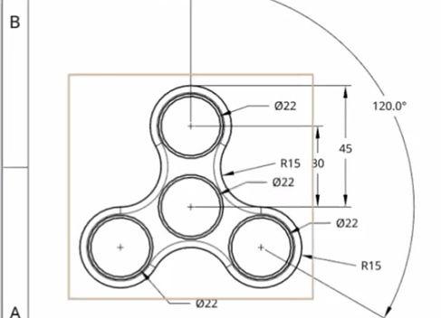 Student Fidget Spinner Design