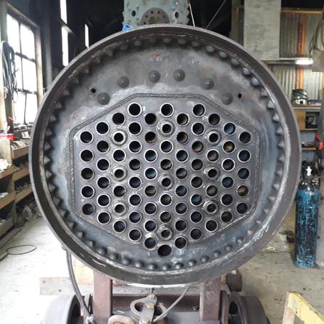Climax 1650 Locomotive Trust boiler project