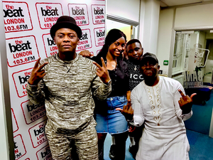 Komo with Tipsey, Yemi Rush & Dboy Dayo at The Beats London