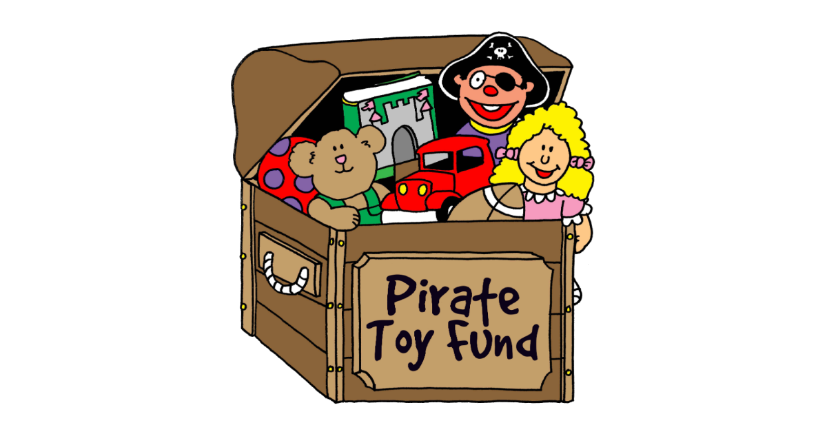 Reps for Pirate Toy Drive don't want to press charges, but authorities are closer to locating Eastview Mall thiefs