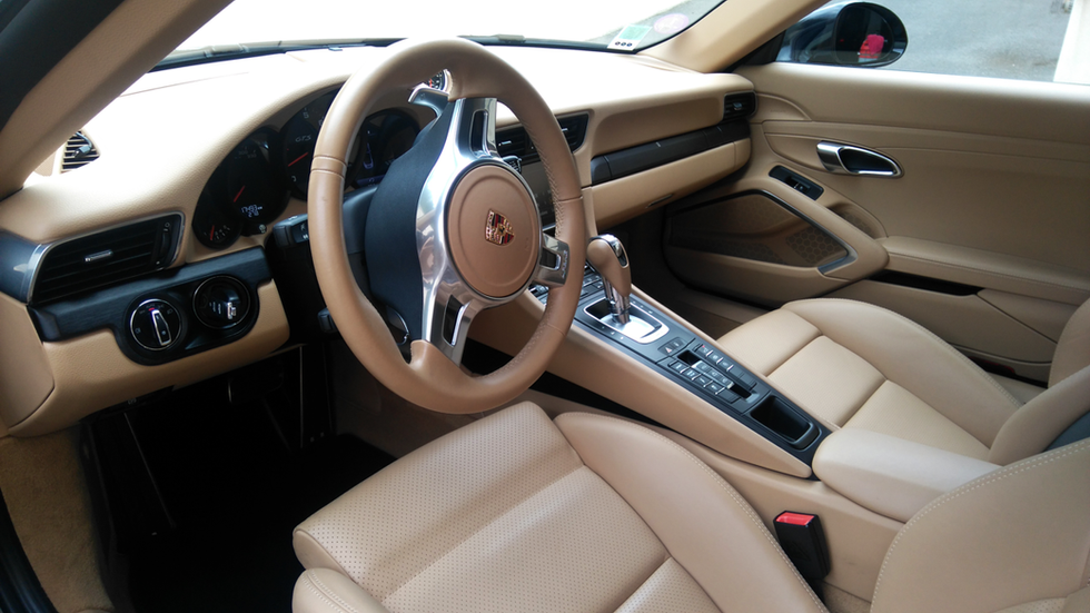 Tableau de bord Porsche