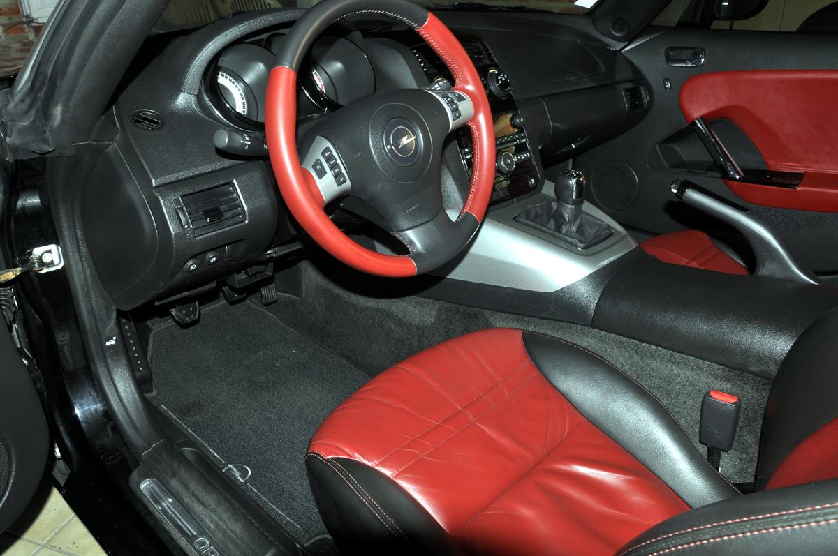 Intérieur Opel Speedster