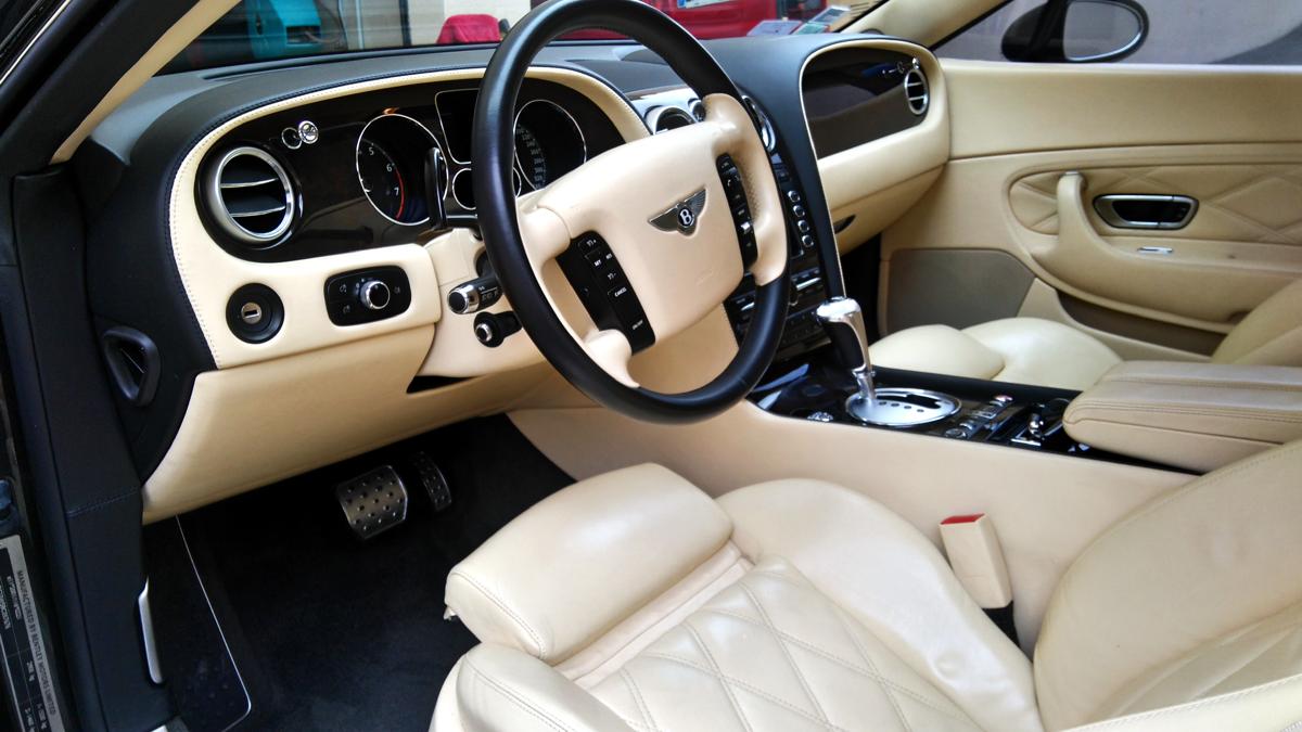 Intérieur Bentley