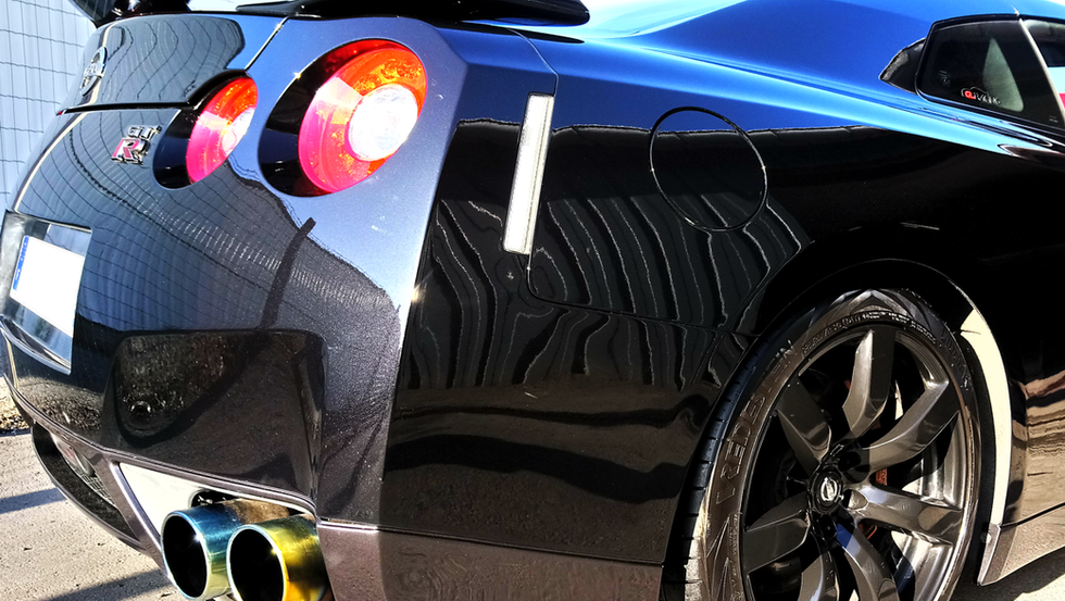 Arrière Nissan GTR