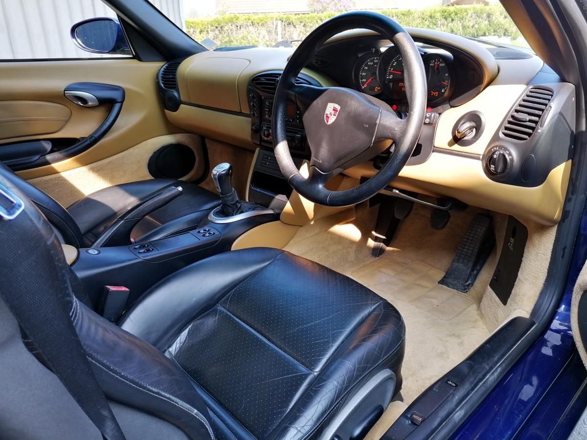 Intérieur Porsche Boxster