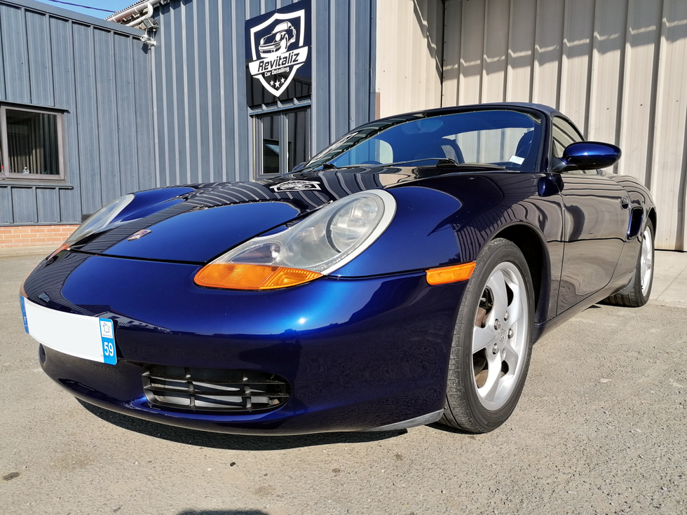Restauration Porsche Boxster