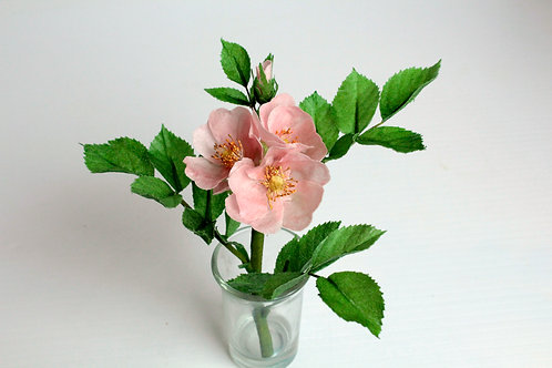 Wafer Paper Wild Bess Roses