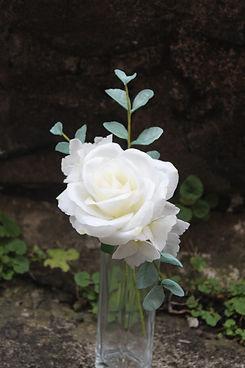 Rhianydd webb wafer paper rose and hydra