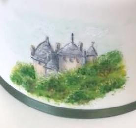 Castle Coch Cocoa Butter Painting
