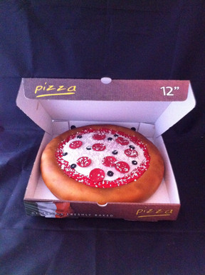 Pizza with own choice of toppings £120