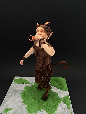 finished mythical creature faun.JPG