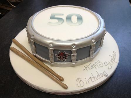 Drum and sticks £150