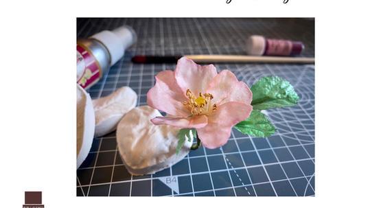 Wafer Paper wild rose