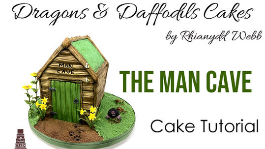 The man cave cake tutorial