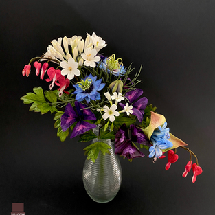 Monday am finished flowers april 2021
