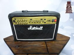 marshall amp illusion cake