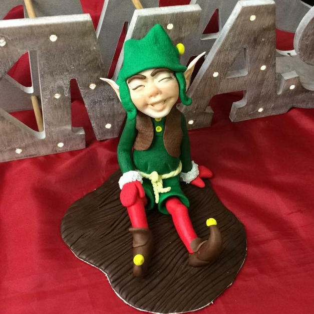 Jolly the Christmas Elf