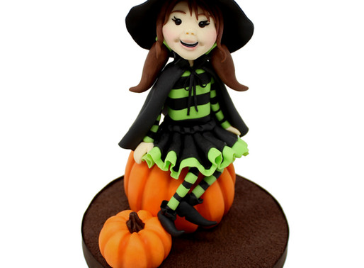 Trick or Treat! Cute Witch Tutorial