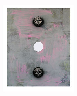 White-Circle,-2012,-Acrylic,-silkscreen-