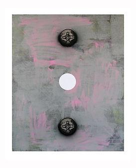 White-Circle,-2012,-Acrylic,-silkscreen-