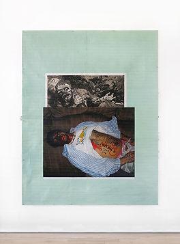 Sleep-Stack-(Der-Krieg),-2018,-Acrylic,-