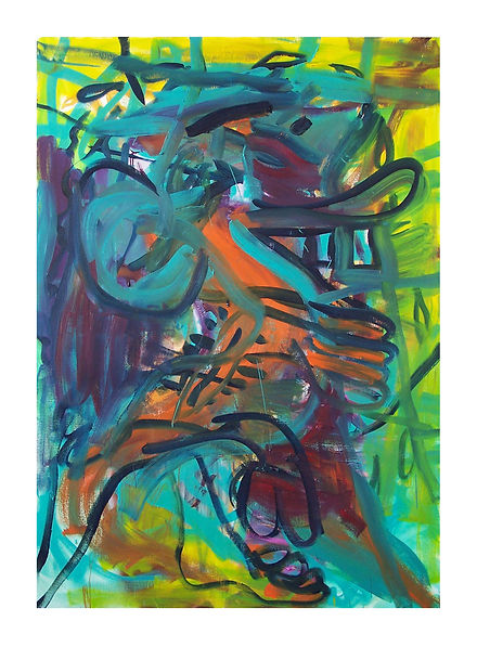 Slippy,-2007,-Oil-on-canvas,-170cm-x-120