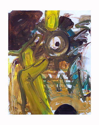 Yellow-Fingers,-2009,-Oil-on-canvas,-76c