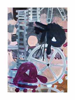 Tannoy,-2009,-Oil-on-canvas,-170cm-x-120