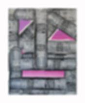 Les-Doigts,-2011,-Acylic,-block-print-co