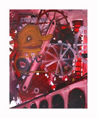 3 Wheel Drive, 2009, Oil on canvas, 214c