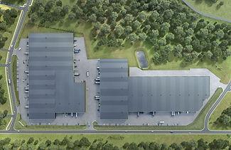 """""""Green park"""" darījumu un viegās ražošanas objekta jaunūve četras kārtās"""
